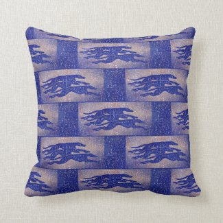 Greyhound cushion (g427) title=