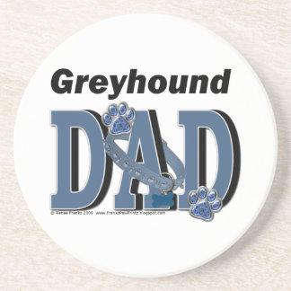 Greyhound DAD Beverage Coaster
