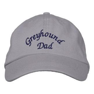 Greyhound Dad Cute Embroidered Hat