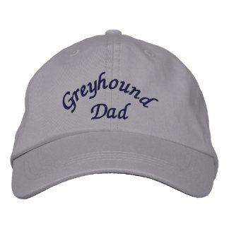 Greyhound Dad Embroidered Cap Embroidered Baseball Cap