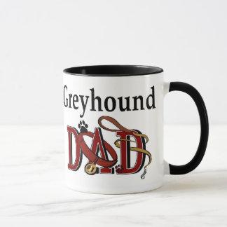 Greyhound Dad Gifts Mug