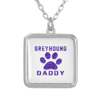 Greyhound Daddy Gifts Designs Pendant