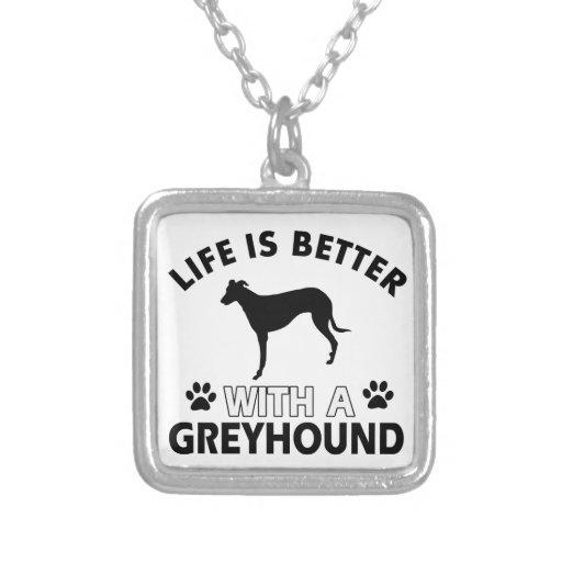 Greyhound designs pendants