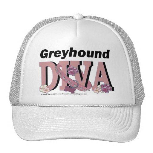 Greyhound DIVA Hat
