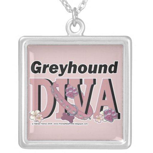 Greyhound DIVA Necklace