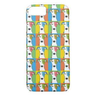 Greyhound Dog Cartoon Pop-Art iPhone 8/7 Case