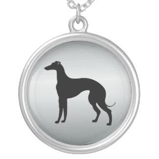 Greyhound Dog in Silhouette Jewelry