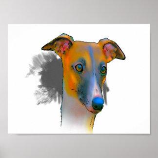 GREYHOUND DOG - Poster