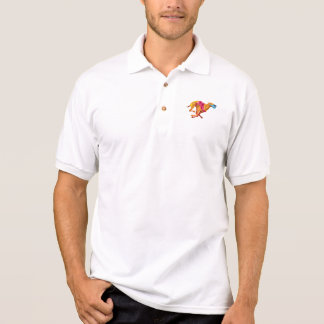 Greyhound Dog Racing Low Polygon Polo Shirt
