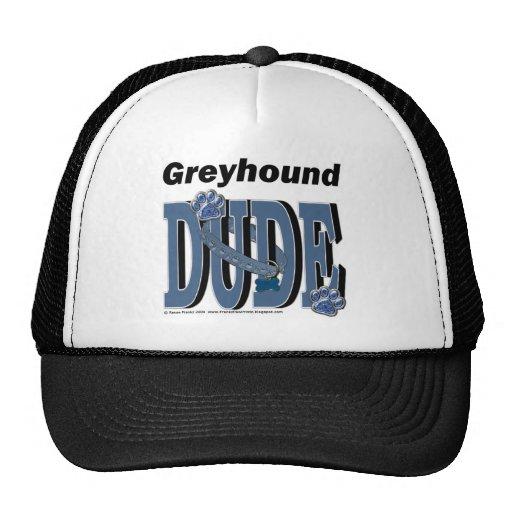 Greyhound Dude Mesh Hats