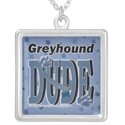 Greyhound DUDE Custom Jewelry