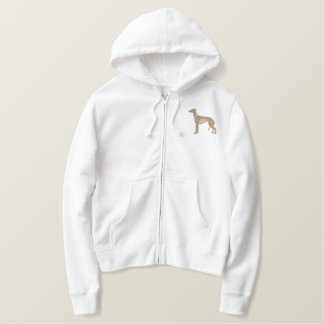Greyhound Embroidered Hoodie
