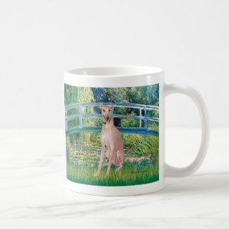 Greyhound (fawn 2) - Bridge Basic White Mug