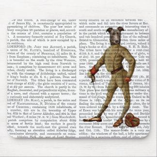 Greyhound Fencer Dark Full 2 Mouse Mat