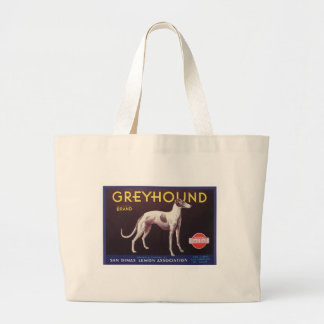 Greyhound Fruit Crate Label Tote Bag