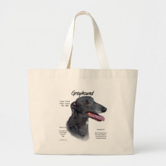 Greyhound History Design Tote Bags