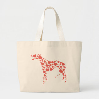 Greyhound Large Tote Bag