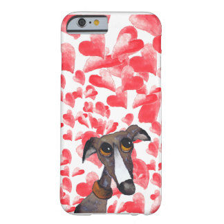 GREYHOUND LOVE g262 Barely There iPhone 6 Case