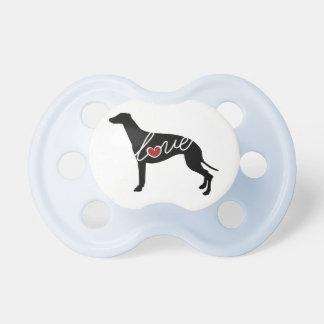Greyhound Love Pacifier