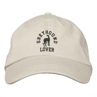Greyhound Lover Embroidered Hat