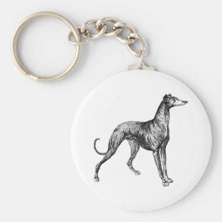 greyhound merchandise key ring