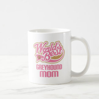 Greyhound Mom Dog Breed Gift Coffee Mug