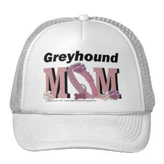 Greyhound MOM Trucker Hats