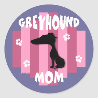 Greyhound Mom Stickers