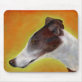 Greyhound mouse pad (a95) title=