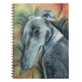 Greyhound notebook (a391)