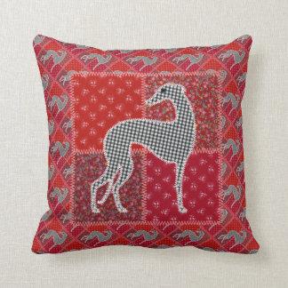 """Greyhound """"of Provence """" Cushion"""