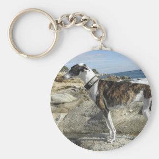 Greyhound Photographs Keychain
