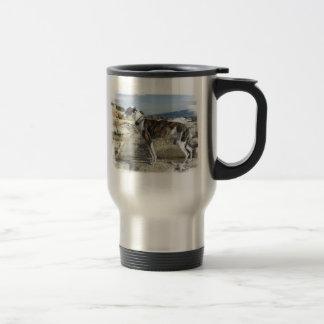 Greyhound Photographs Stainless Travel Mug