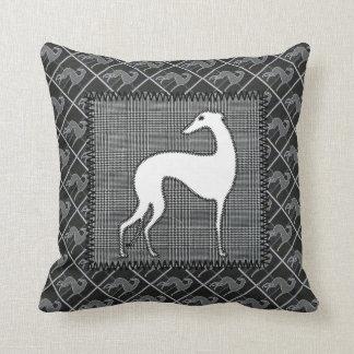 Greyhound Prince of Wales Cushion