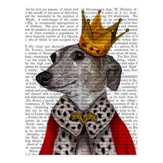 Greyhound Queen Postcard