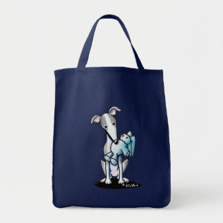 Greyhound Rabbit Lover Tote Bag