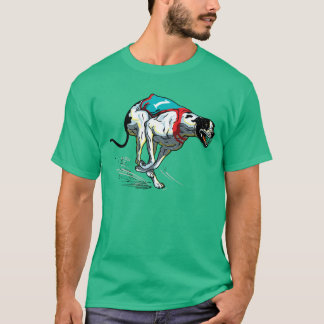 greyhound racing dog T-Shirt