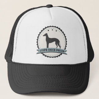 Greyhound Retired Racer 45 mph Lazy Racing Dog Trucker Hat