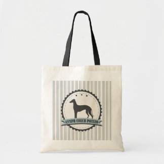 Greyhound Retired Racer 45mph Lazy Dog Tote Bag