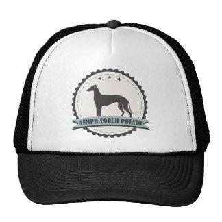 Greyhound Retired Racer 45mph Lazy Dog Trucker Hat