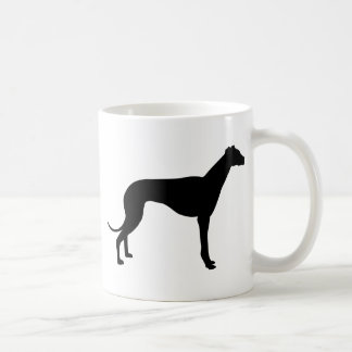 Greyhound Silhouette Coffee Mug