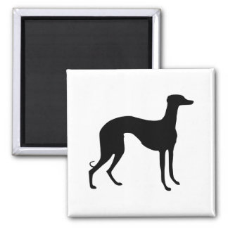 Greyhound Silhouette Magnet
