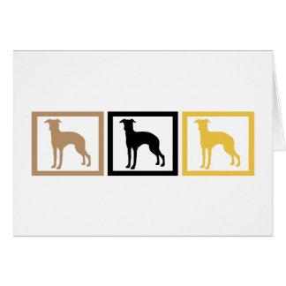Greyhound Squares Cards