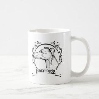 Greyhound T-shirt Coffee Mugs