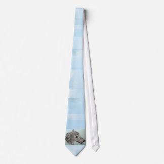 Greyhound Tie with Original Artwork by Carol Zeock