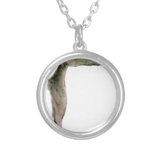 Greyhound, tony fernandes silver plated necklace