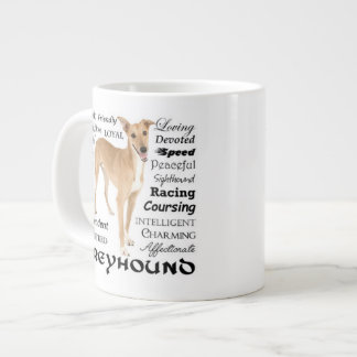 Greyhound Traits Jumbo Mug