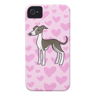 Greyhound / Whippet / Italian Greyhound Love iPhone 4 Case-Mate Case