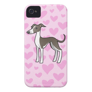 Greyhound / Whippet / Italian Greyhound Love iPhone 4 Cases