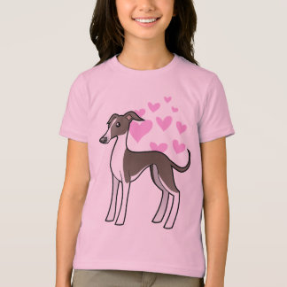 Greyhound / Whippet / Italian Greyhound Love T-Shirt